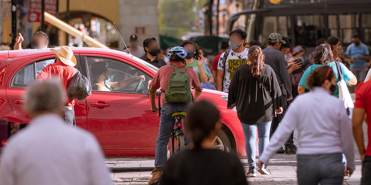 Calles de Oaxaca repletas en plena pandemia | El Imparcial de Oaxaca