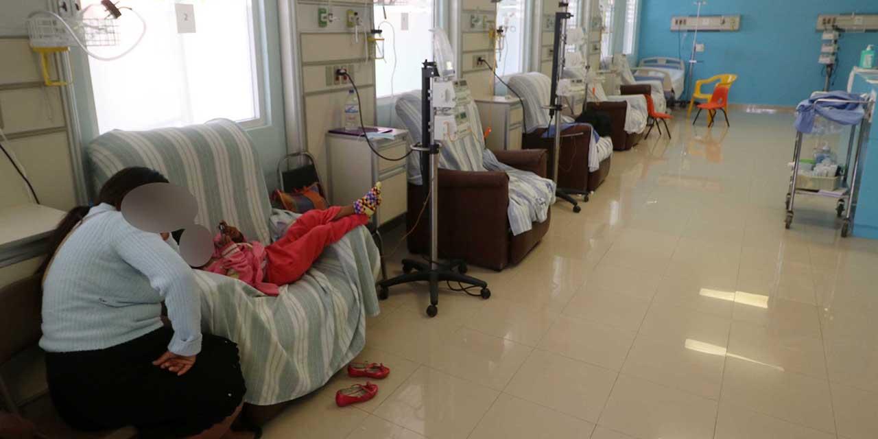 Reanudan quimioterapias en Hospital de la Niñez; se mantiene el desabasto | El Imparcial de Oaxaca