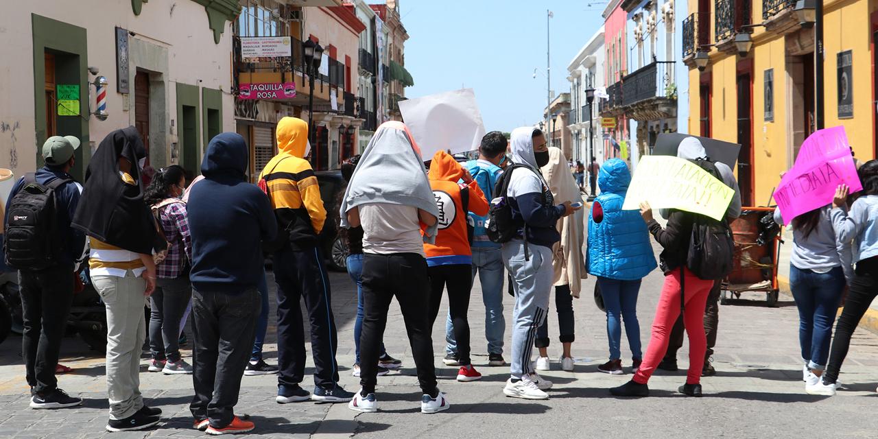Tercer día de protestas, caos y vandalismo en Oaxaca | El Imparcial de Oaxaca