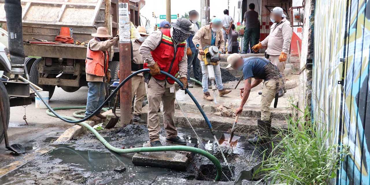 San Juan Chapultepec exige solución a problema de drenaje | El Imparcial de Oaxaca