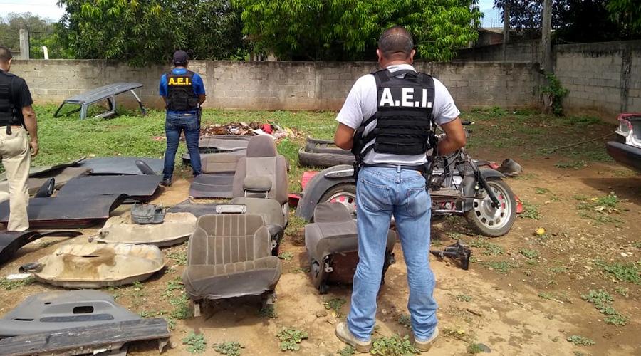 Catean casa en Tehuantepec; encuentran autos, motos y autopartes | El Imparcial de Oaxaca