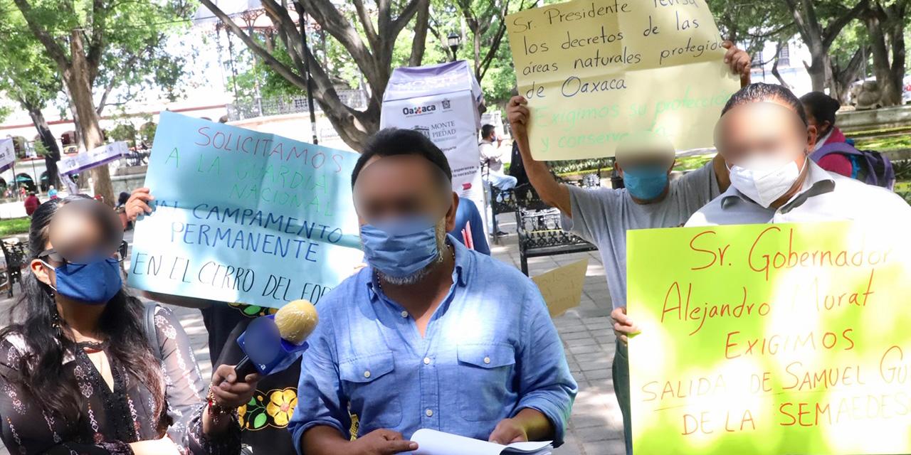 Semaedeso descuida zonas protegidas de Oaxaca   El Imparcial de Oaxaca