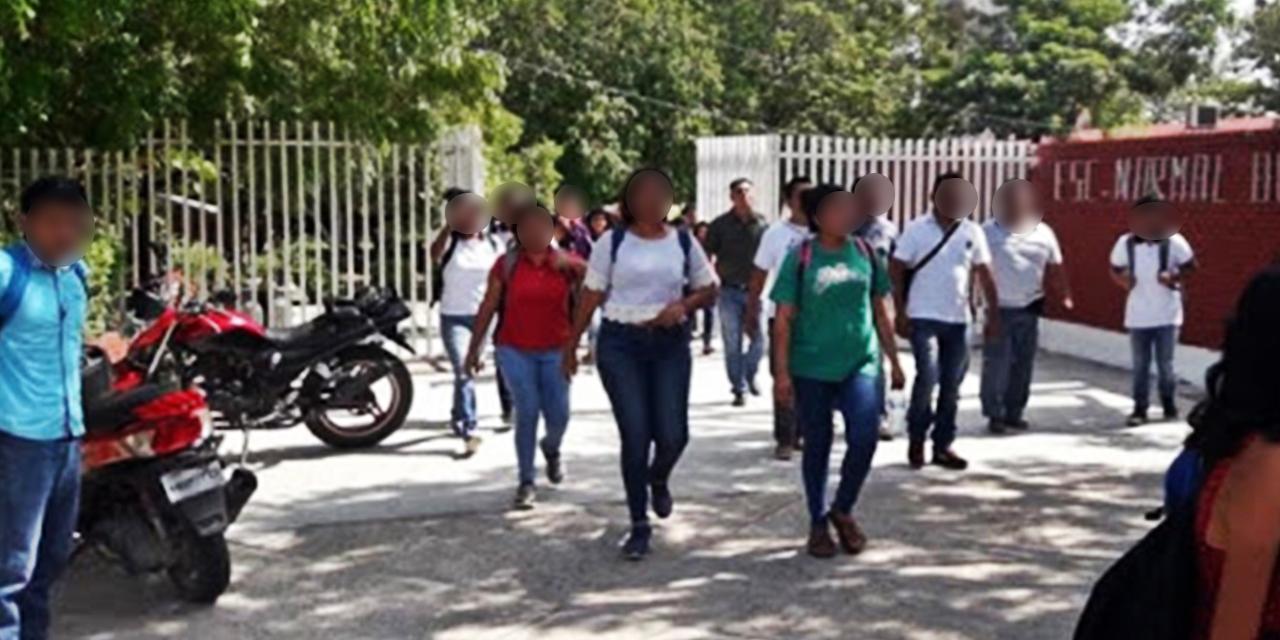 Estudiantes normalistas del Istmo rechazan examen en línea | El Imparcial de Oaxaca