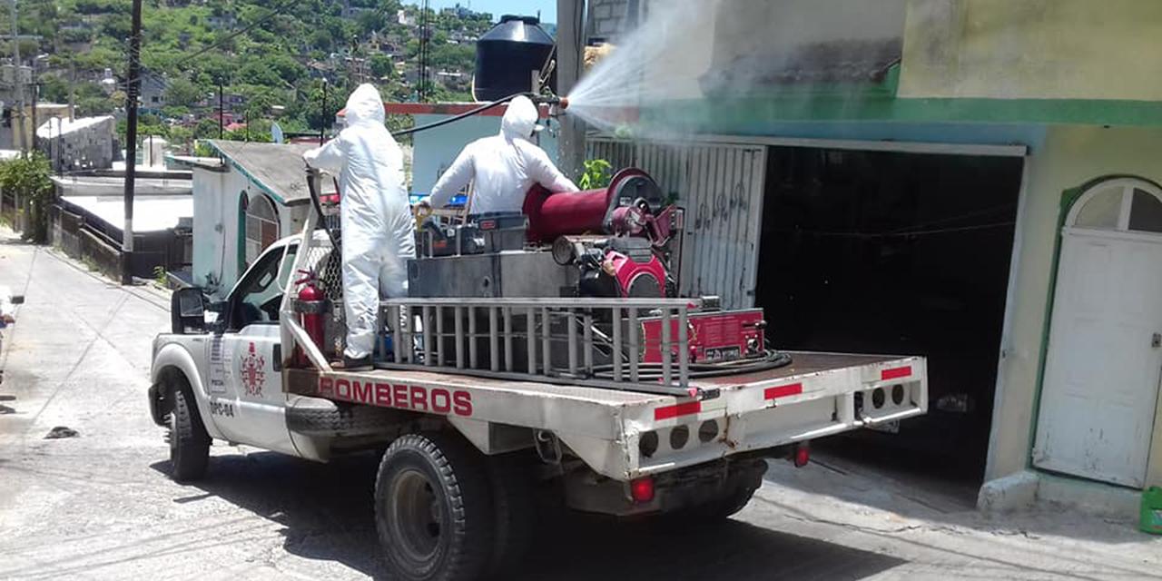 Desinfectan colonias de Salina Cruz por Covid-19 | El Imparcial de Oaxaca
