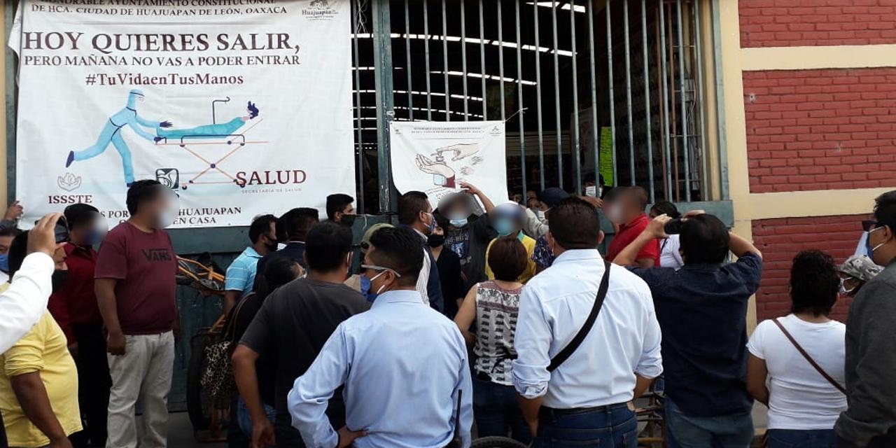 Paralizan actividades en Mercado Zaragoza de Huajuapan | El Imparcial de Oaxaca