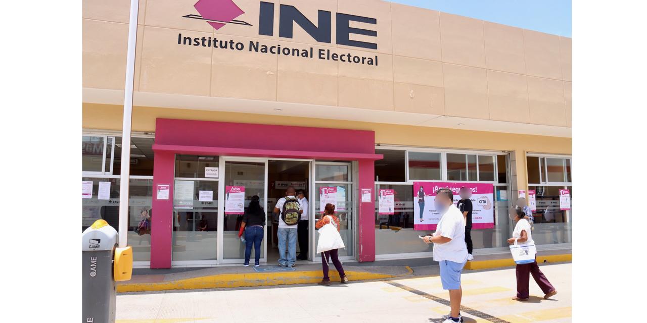 14 módulos del INE reinician operaciones en Oaxaca | El Imparcial de Oaxaca