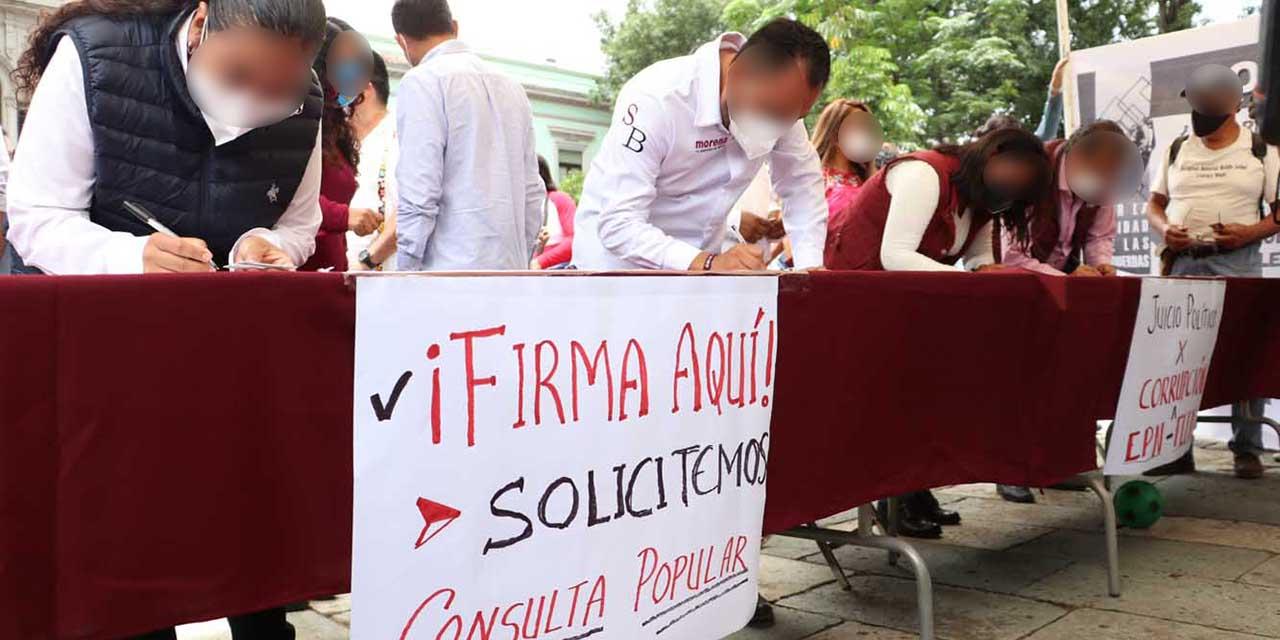 Consulta para enjuiciar a expresidentes, un riesgo para instituciones | El Imparcial de Oaxaca