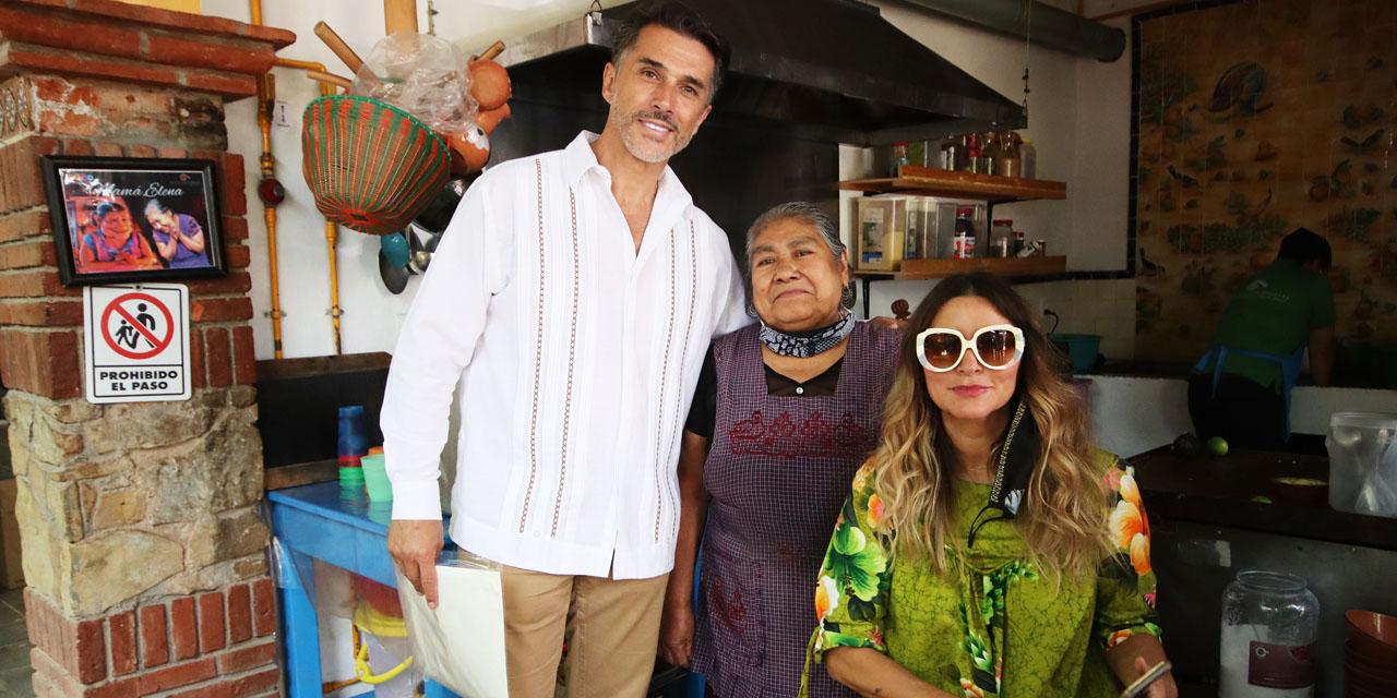 Sergio Mayer visita a artesanos oaxaqueños | El Imparcial de Oaxaca