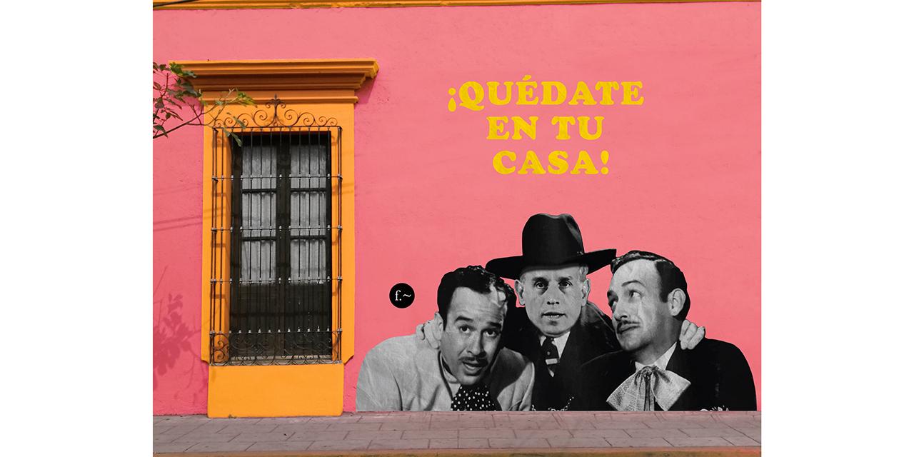 """""""Quédate en casa"""", el mural oculto de Efe de Froy en Oaxaca   El Imparcial de Oaxaca"""
