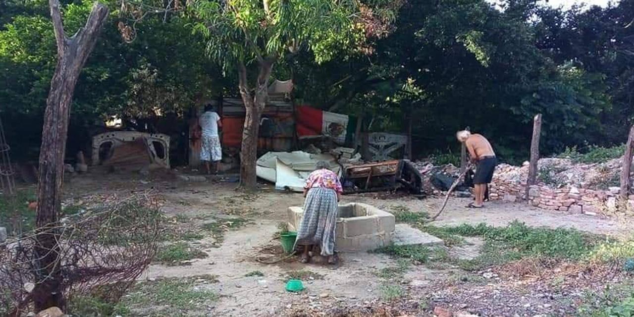 Se incendia humilde vivienda en Tehuantepec | El Imparcial de Oaxaca