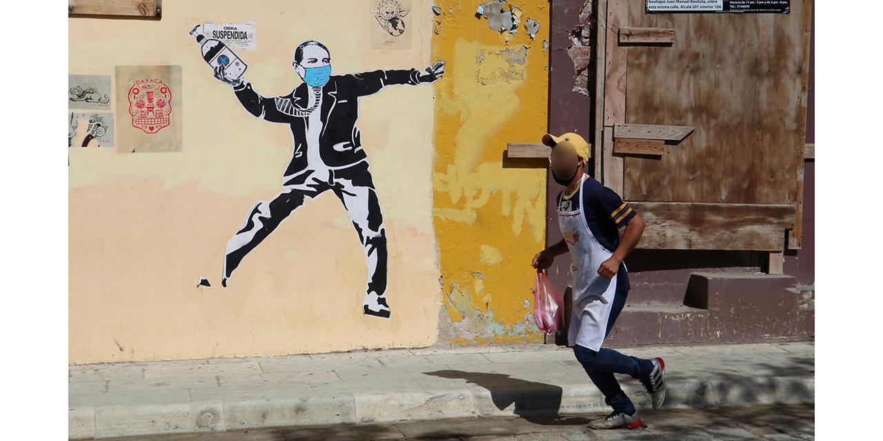 Arte urbano y Covid: llamado a la conciencia   El Imparcial de Oaxaca