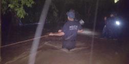 Colonias de Río Grande se inundan por intensas lluvias