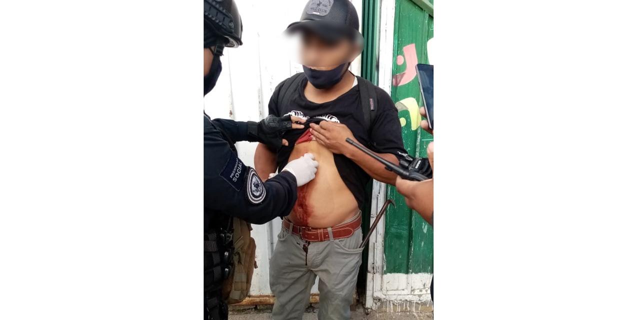 Hombre apuñalado en la Central de Abasto de Oaxaca   El Imparcial de Oaxaca