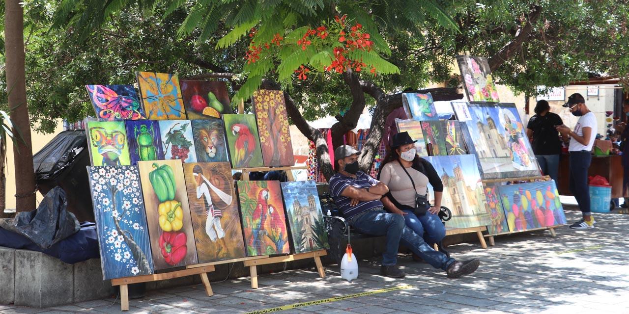 Jardín del arte recobra vida ante la pandemia