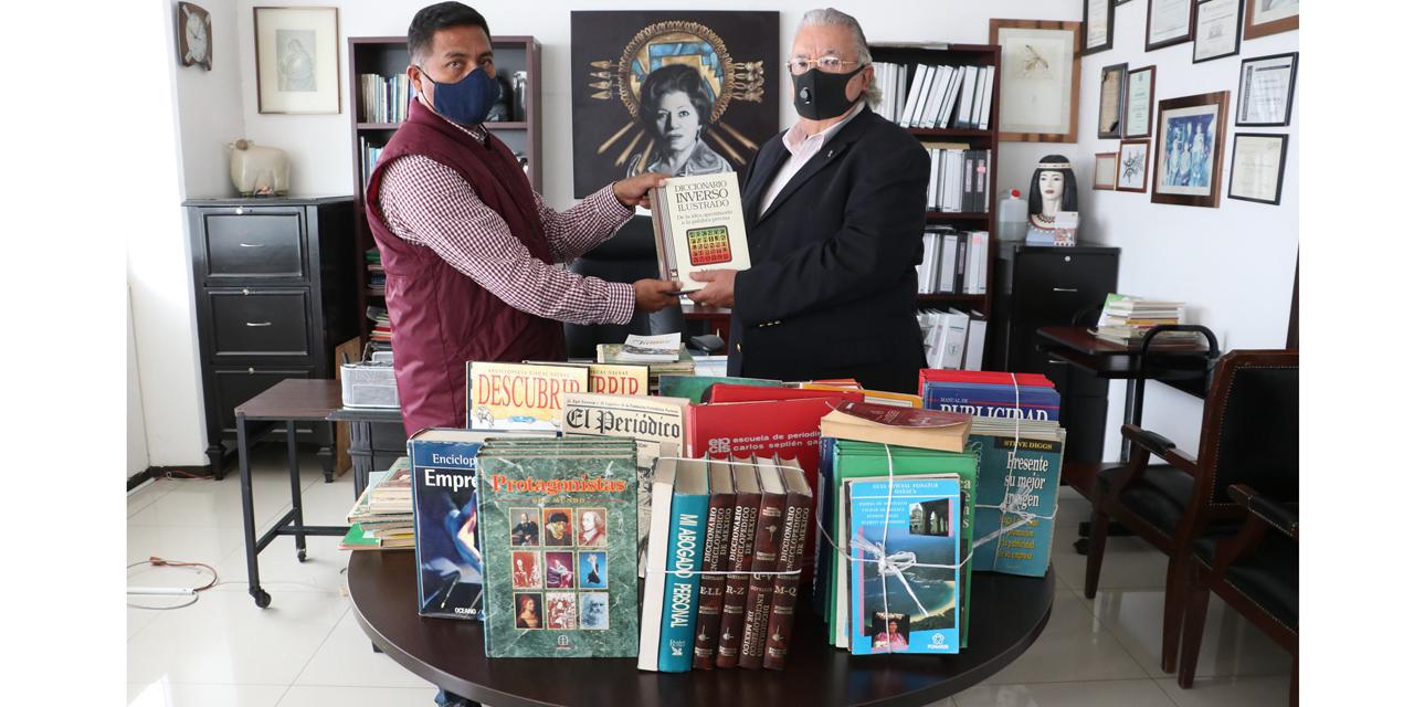 Fundación Fernández Pichardo dona libros para Villa Alta | El Imparcial de Oaxaca