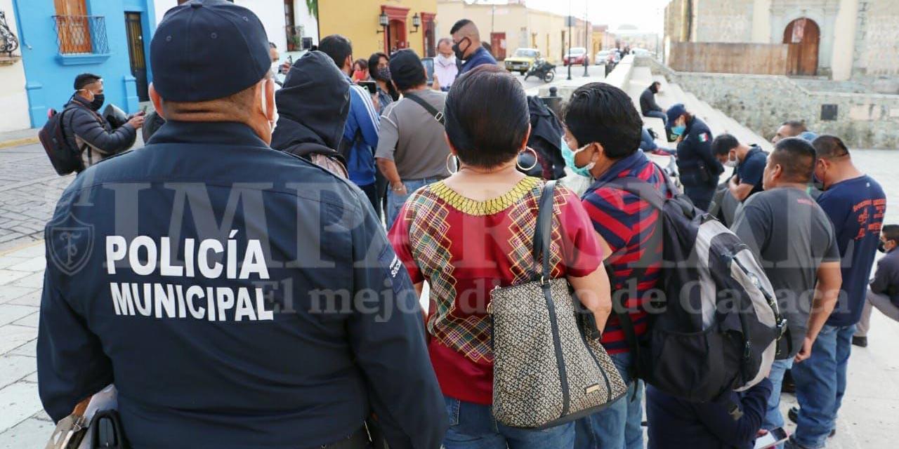 Policías Municipales piden claridad en el programa Fortaseg | El Imparcial de Oaxaca