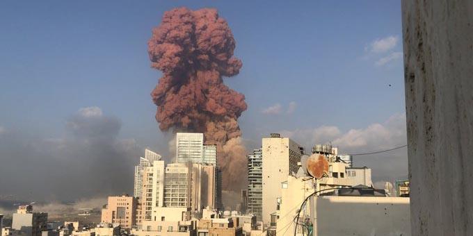 Se desconoce cifra de muertos por explosión en Beirut, Líbano