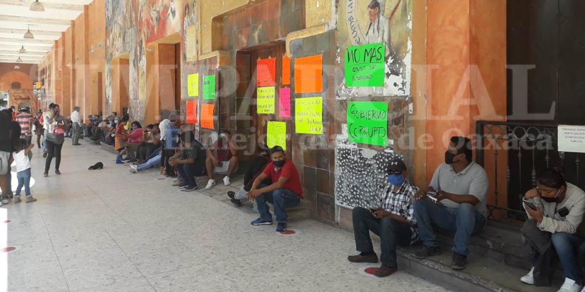Sindicato Joven Catem toma palacio municipal de Huajuapan   El Imparcial de Oaxaca