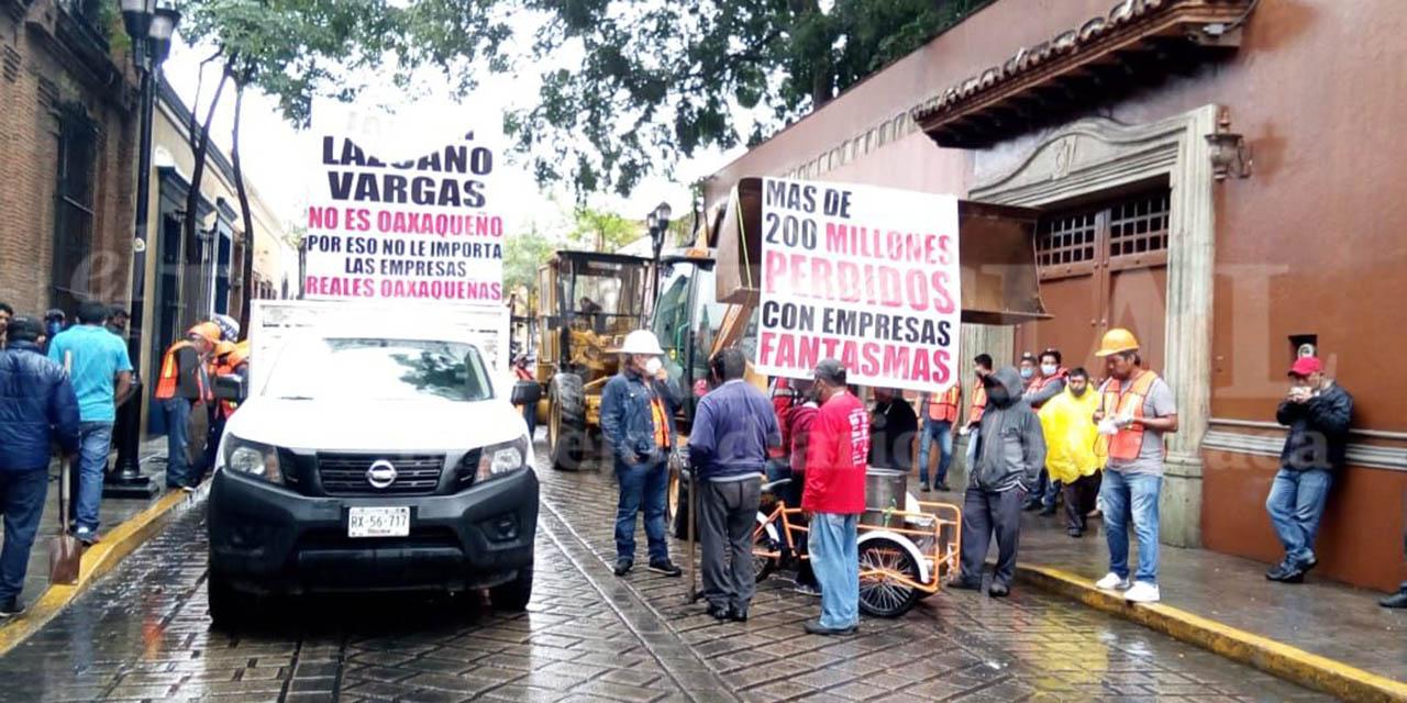 Contratistas independientes denuncian corrupción y falta de obra pública para empresas oaxaqueñas | El Imparcial de Oaxaca