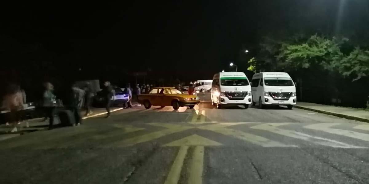 Con bloqueos en el Istmo, transportistas exigen obras a CAO | El Imparcial de Oaxaca