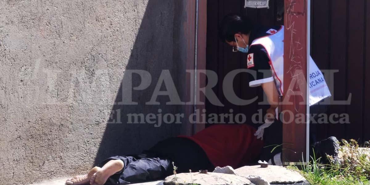 Persona en 'situación de calle' fallece en vía pública en Oaxaca | El Imparcial de Oaxaca