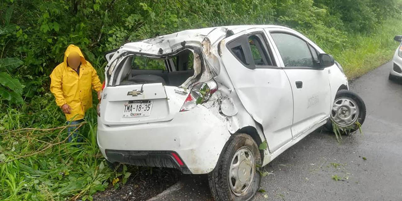 Aparatoso accidente en Matías Romero   El Imparcial de Oaxaca