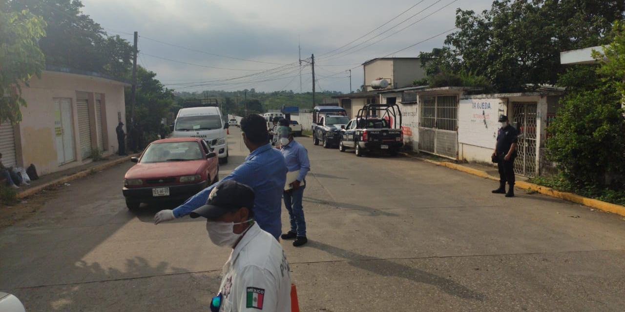 Persiste cerco sanitario en Matías Romero, Oaxaca | El Imparcial de Oaxaca