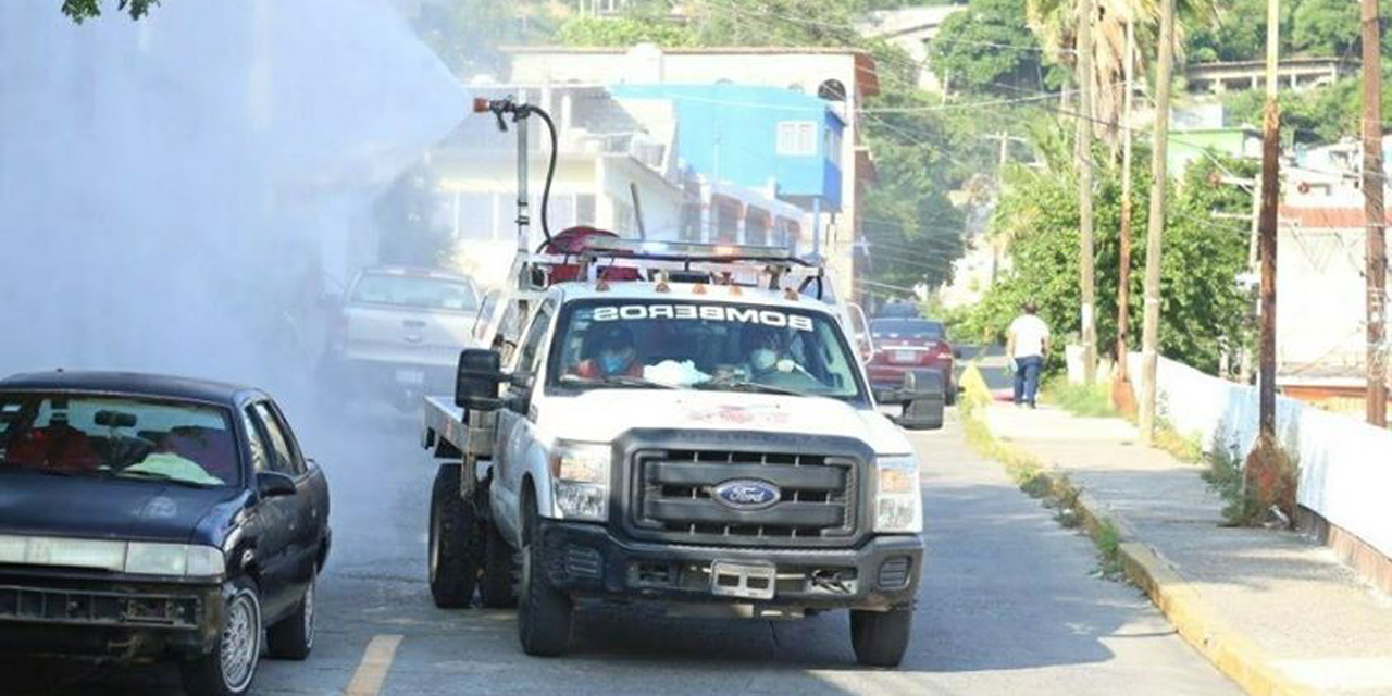 Vecinos de Salina Cruz sanitizan colonias por Covid-19   El Imparcial de Oaxaca