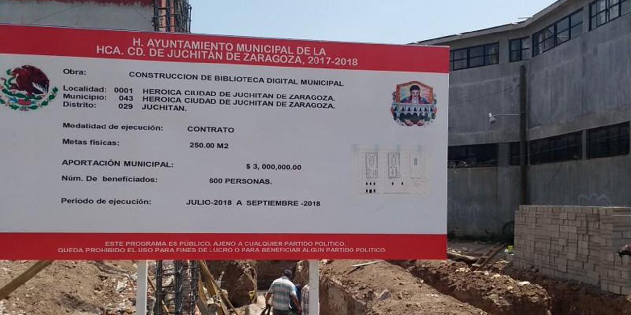 Biblioteca digital de Juchitán sigue detenida   El Imparcial de Oaxaca