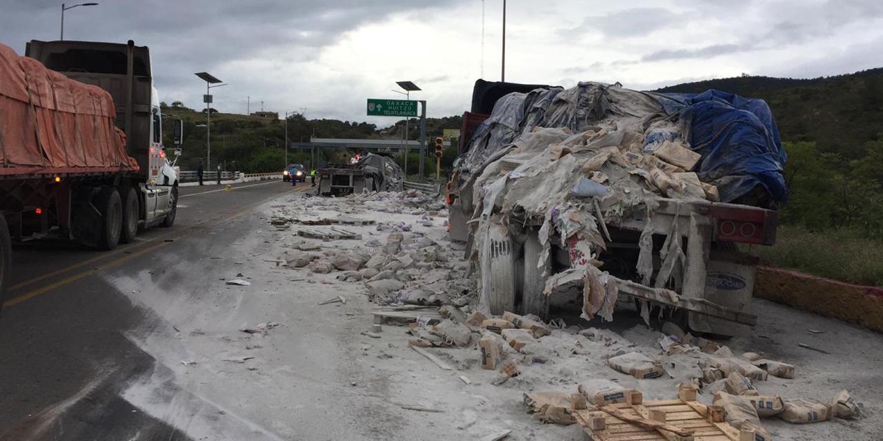 Choque de tráilers en carretera Cuacnopalan | El Imparcial de Oaxaca