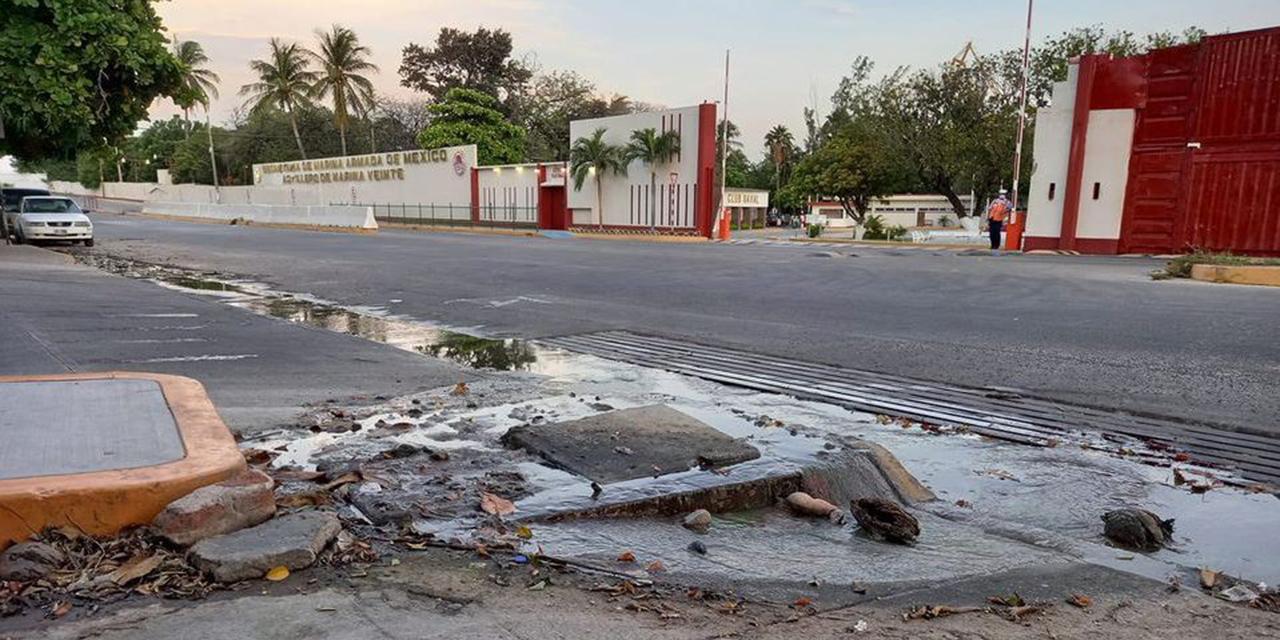 Fuertes lluvias causan estragos en Salina Cruz | El Imparcial de Oaxaca