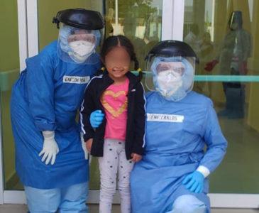 Niña de 4 años vence al Covid-19 en Juchitán