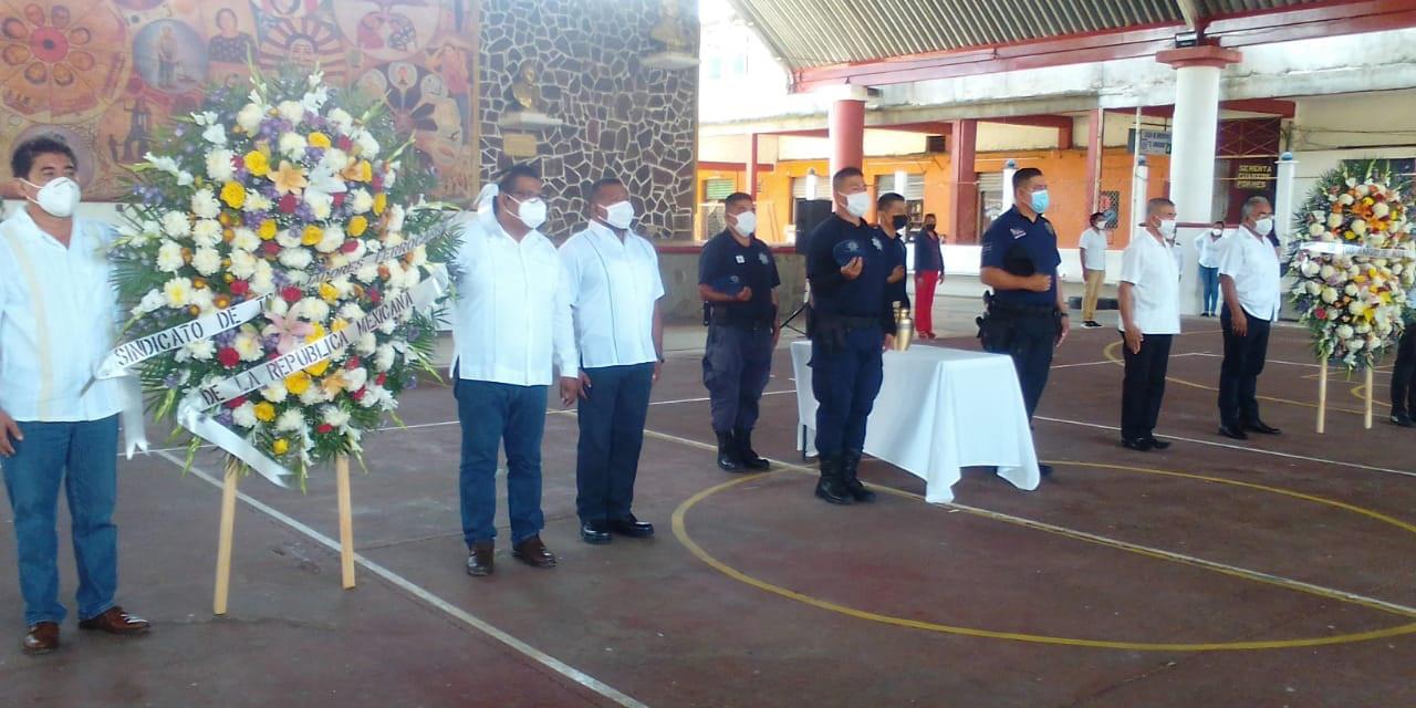 Toque de Silencio en memoria de edil de Matías Romero   El Imparcial de Oaxaca