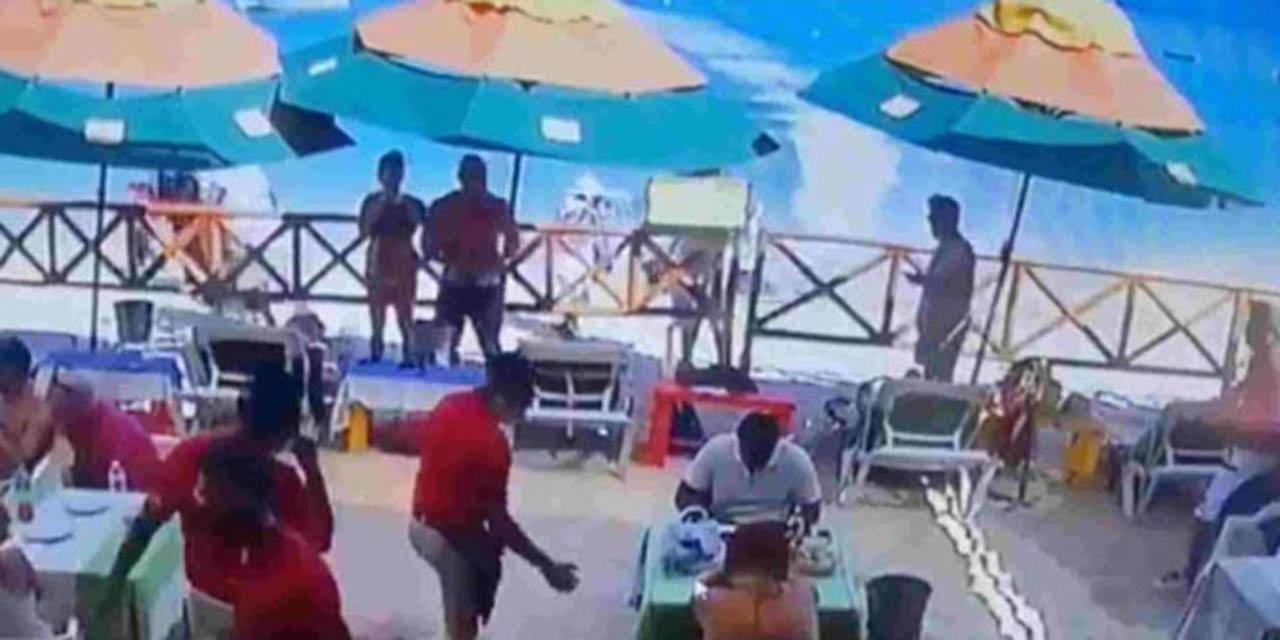 Moto acuática se estrella contra restaurante; un muerto | El Imparcial de Oaxaca