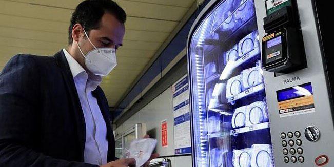Llegan a México máquinas expendedoras de cubrebocas y gel antibacterial | El Imparcial de Oaxaca
