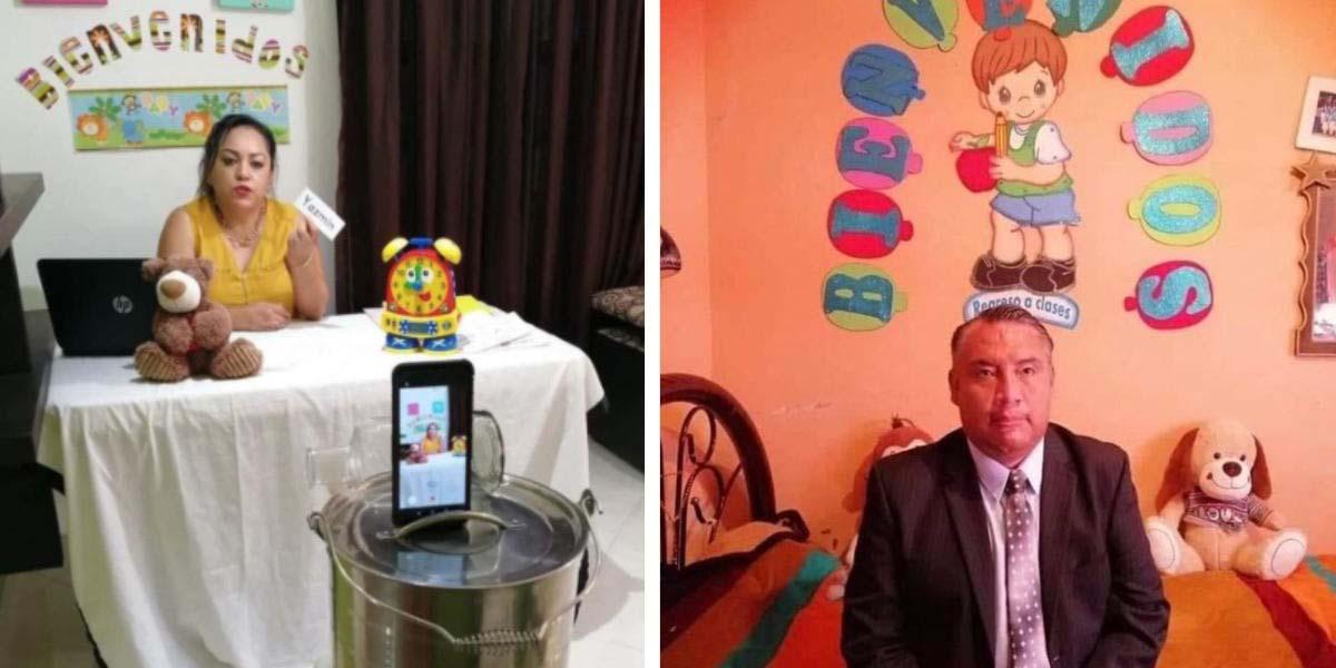 Maestros mexicanos transforman sus hogares en salones de clase | El Imparcial de Oaxaca