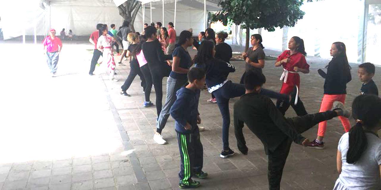 Clases de defensa personal en línea para mujeres | El Imparcial de Oaxaca