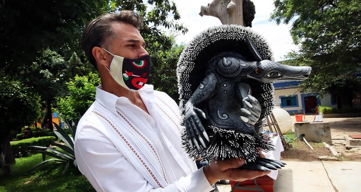 Visita Sergio Mayer San Martín Tilcajete | El Imparcial de Oaxaca