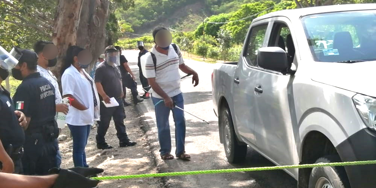 Comunidades del Istmo aplican medidas contra Covid-19   El Imparcial de Oaxaca