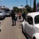 Motociclista derrapa en carretera federal 190 en Oaxaca