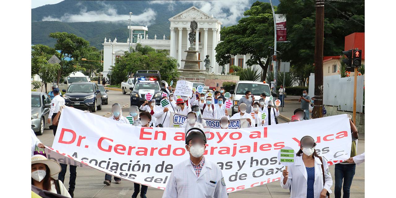 Médicos de Oaxaca piden justicia para colega de Chiapas | El Imparcial de Oaxaca