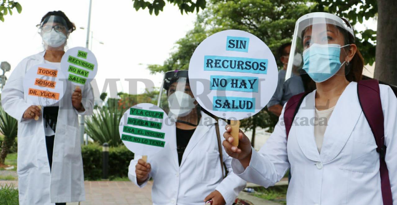 Médicos de Oaxaca se solidarizan con doctor de Chiapas acusado de presunto abuso de autoridad
