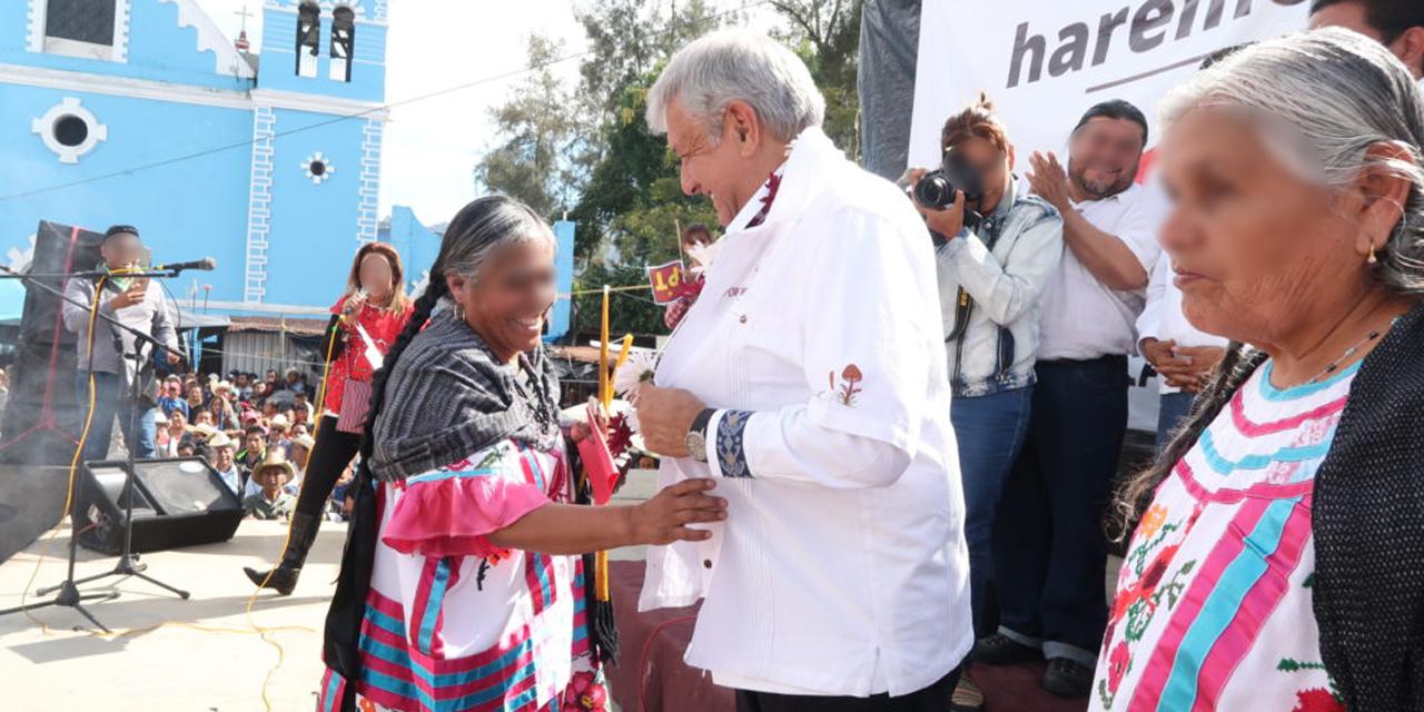 Pueblos indígenas solicitan a AMLO pasar del discurso a los hechos | El Imparcial de Oaxaca