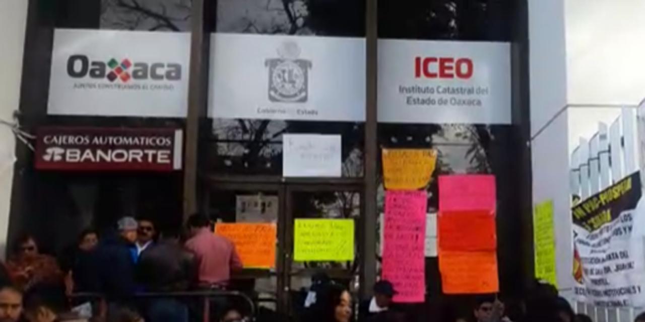 Impera burocratismo en Instituto Catastral | El Imparcial de Oaxaca