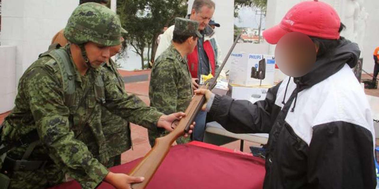 Congreso de Oaxaca pide a Sedena reactivar desarme voluntario | El Imparcial de Oaxaca
