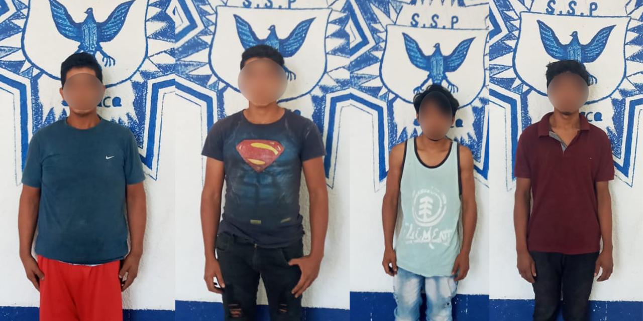 Detienen a 4 sujetos con camioneta robada en Juchitán | El Imparcial de Oaxaca