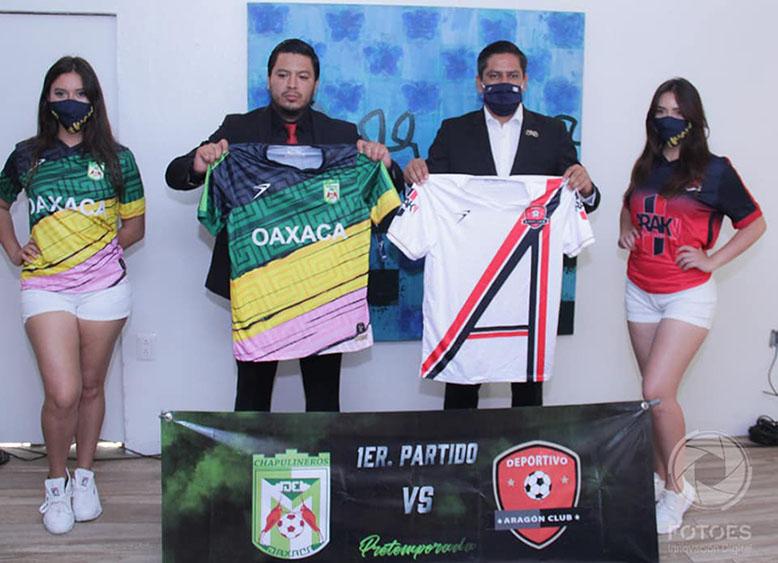Adelantan alineaciones del partidazo entre Deportivo Aragón y Chapulineros | El Imparcial de Oaxaca