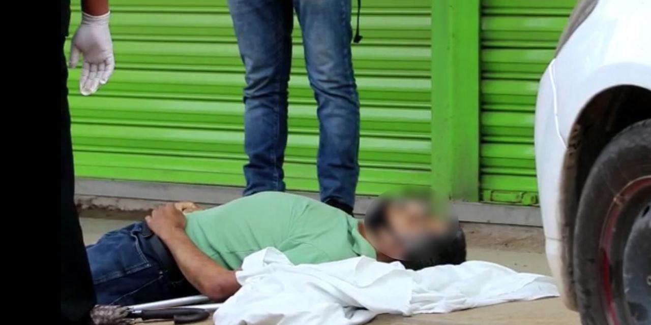 ¡Muerte súbita en Puente Valerio Trujano!   El Imparcial de Oaxaca