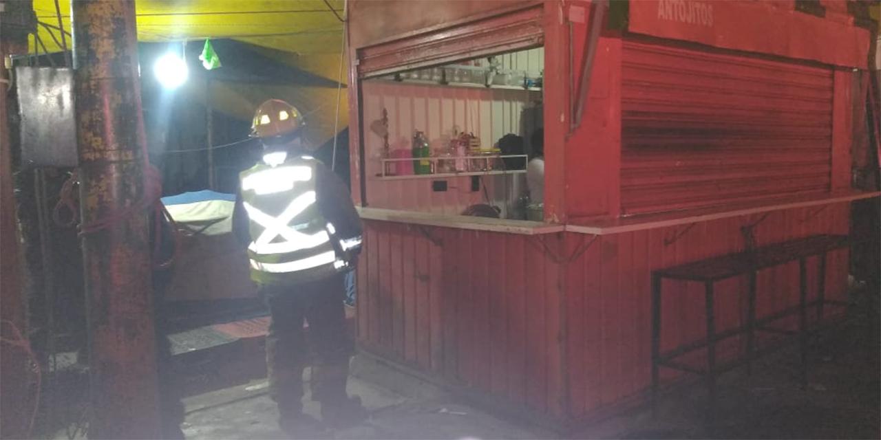 Falsa alarma de incendio en la Central de Abasto | El Imparcial de Oaxaca