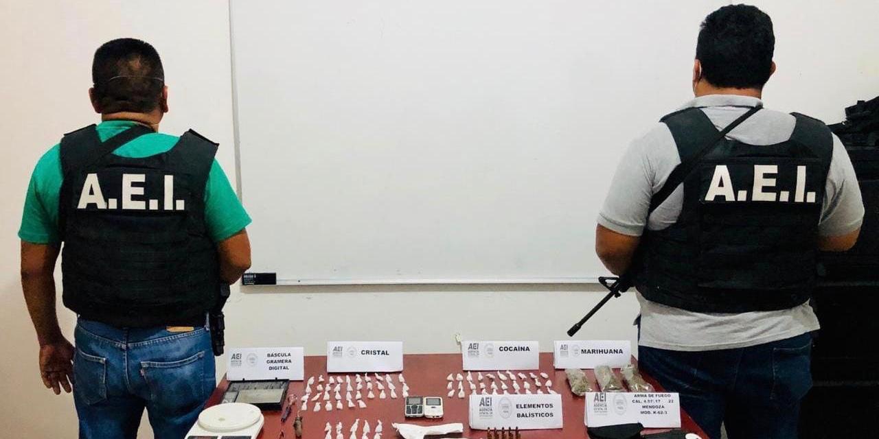 AEI decomisa armas y drogas en cateo en El Espinal; hay un detenido | El Imparcial de Oaxaca